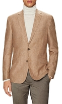 Kenneth Cole New York Wool Checkered Notch Lapel Sportcoat