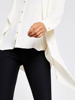 River Island Chiffon Shirt - Ivory