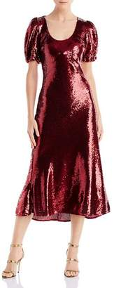 Keepsake Farewell Sequined Midi Dress