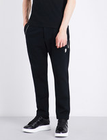 Alexander McQueen Zip-detailed cotton jogging bottoms