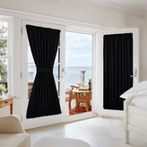 NICETOWN Patio out Curtain Panel - Practical Thermal Insulated for French Door / Patio 54W by 72L Inches - 1 Panel
