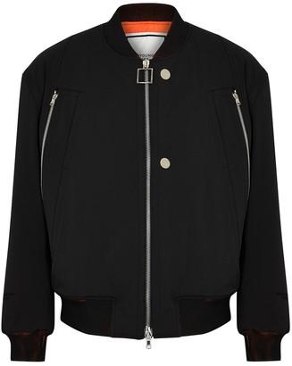 Wooyoungmi Black nylon bomber jacket