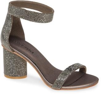 Jeffrey Campbell Laura Crystal Embellished Ankle Strap Sandal