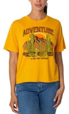 Rebellious One Juniors' Adventure Graphic T-Shirt