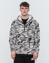 Billionaire Boys Club Zebra Camo 1/4 Zip Jacket