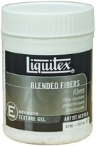 Liquitex Blended Fibers Effects Medium, 8-Ounce