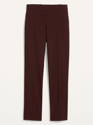 Old Navy Mid-Rise Pull-On Straight Full-Length Pants for Women