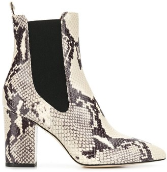 Paris Texas snakeskin-effect boots