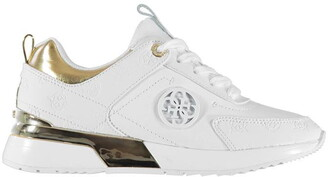 GUESS White Trainers For Women | Shop