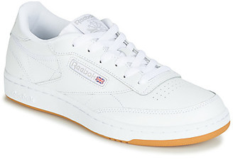 Reebok Classic CLUB C J girls's Shoes (Trainers) in White