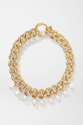 Rosantica Canasta Gold-tone Faux Pearl Necklace - one size