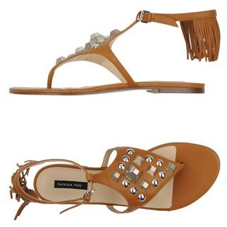 Patrizia Pepe Toe strap sandal