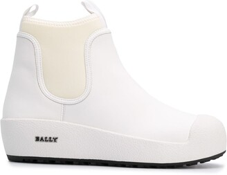 Bally Slip-On Leather Boots