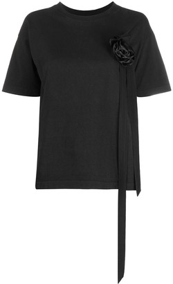 aganovich flower detail T-shirt
