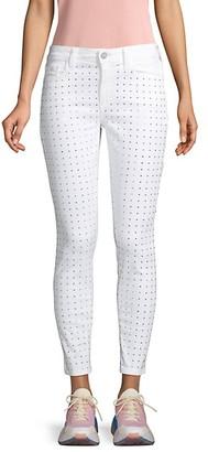 Lauren Rhinestone Embellished Skinny Jeans
