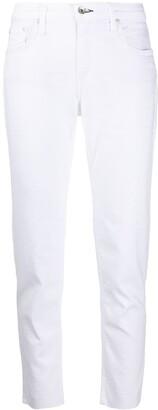 Rag & Bone/JEAN Mid-Rise Slim-Fit Jeans