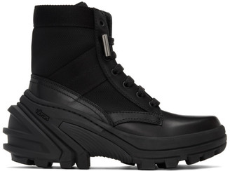 Alyx Black Fuoripista Lace-Up Boots