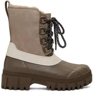 Rag & Bone Taupe Winter Boots