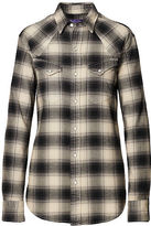 Ralph Lauren Cotton Dobby Western Shirt