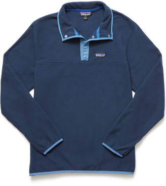 Patagonia Micro D Snap-T Fleece Pullover Navy M