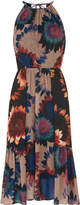 Whistles Sunflower Print Dress
