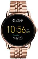 Fossil Q Wander Display Dial Rose Tone Braclet Smart Watch