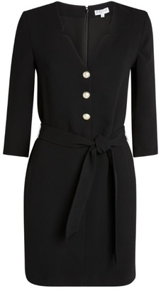 Claudie Pierlot Button-Front Dress