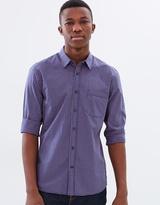 Sportscraft Long Sleeve Regular Nathan Shirt