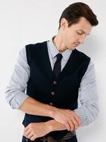 Rainer knitted merino waistcoat