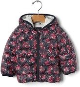 Gap ColdControl Lite print puffer jacket
