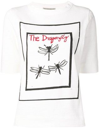 Holland & Holland The Dragonfly print T-shirt