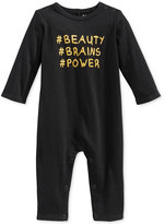 First Impressions Beauty Brains Power Coverall, Baby Girls (0-24 months), Only at Macy's