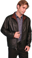 Scully Men's Premium Lambskin Jacket w/ Contrast 705