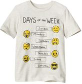 "Boys 4-10 Jumping Beans® ""Days of the Week"" Emoji Graphic Tee"