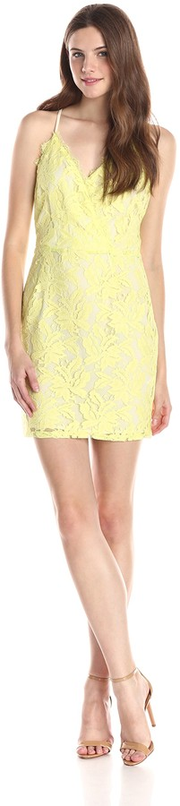 Greylin Women's Stasia Floral Lace Dress