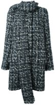 Dolce & Gabbana bouclé coat
