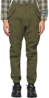 R 13 Khaki Military Cargo Pants