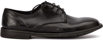 Premiata Creased Derby Shoes
