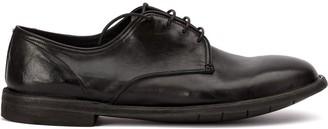Premiata creased derby shoes