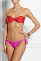 Tara Matthews Liamone two-tone bandeau bikini