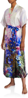 Christine Lingerie South Pacific Floral Long Robe