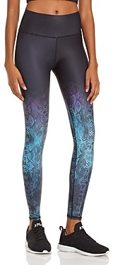 Aqua Athletic Ombre Snake Print Leggings - 100% Exclusive