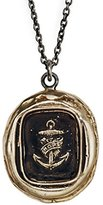 Pyrrha Unisex Bronze Anchor of Hope Talisman Necklace