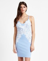 Lipsy Scallop Lace Detail Cami Bodycon Dress