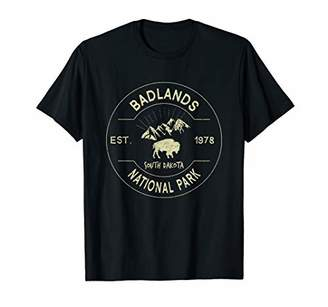 Dakota Badlands National Park Retro Vintage South Gift T-Shirt