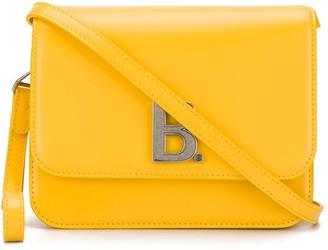 Balenciaga logo plaque bag