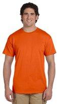 Gildan Men's Ultra Cotton Tee, Orange, Medium