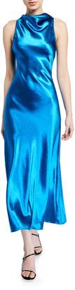 Sies Marjan Cowl-Neck Bias Dress