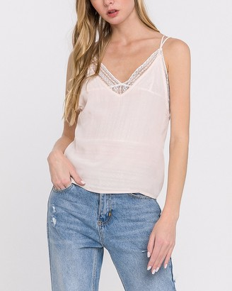 Express Endless Rose Lace Underlay Cami