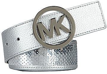 Michael Kors Sequin Inlay Belt